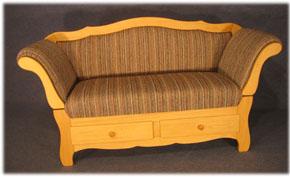 Landhausmöbel sofa ottomane  Landhausmöbel-Shop